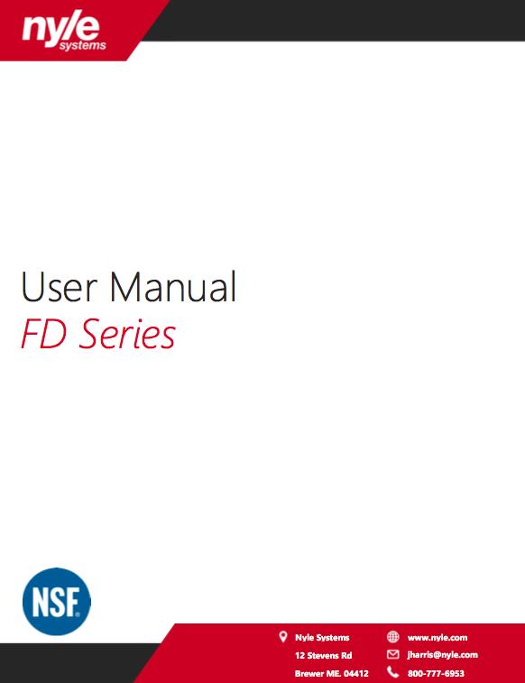 FD Series Manual