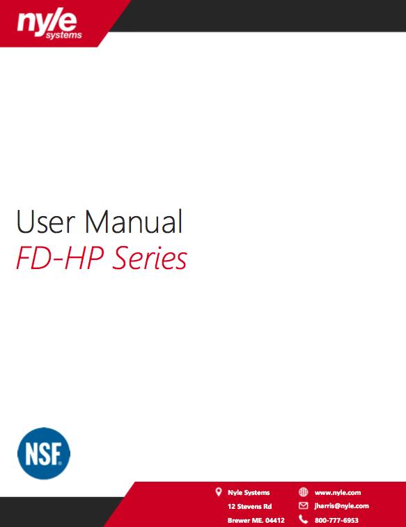 FD-HP Series Manual