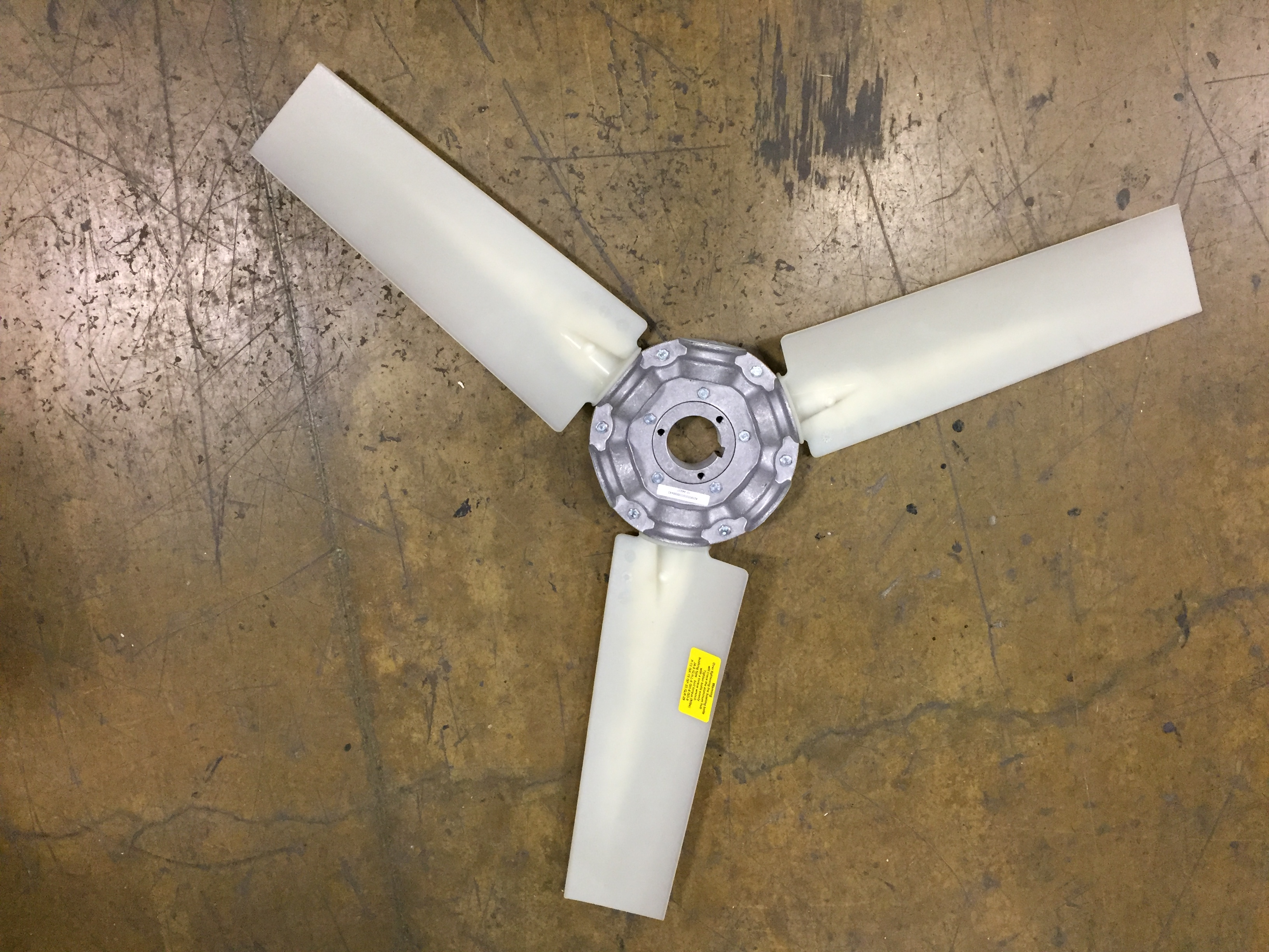 Plastic Fan Blades : Fan blade quot l plastic nyle systems