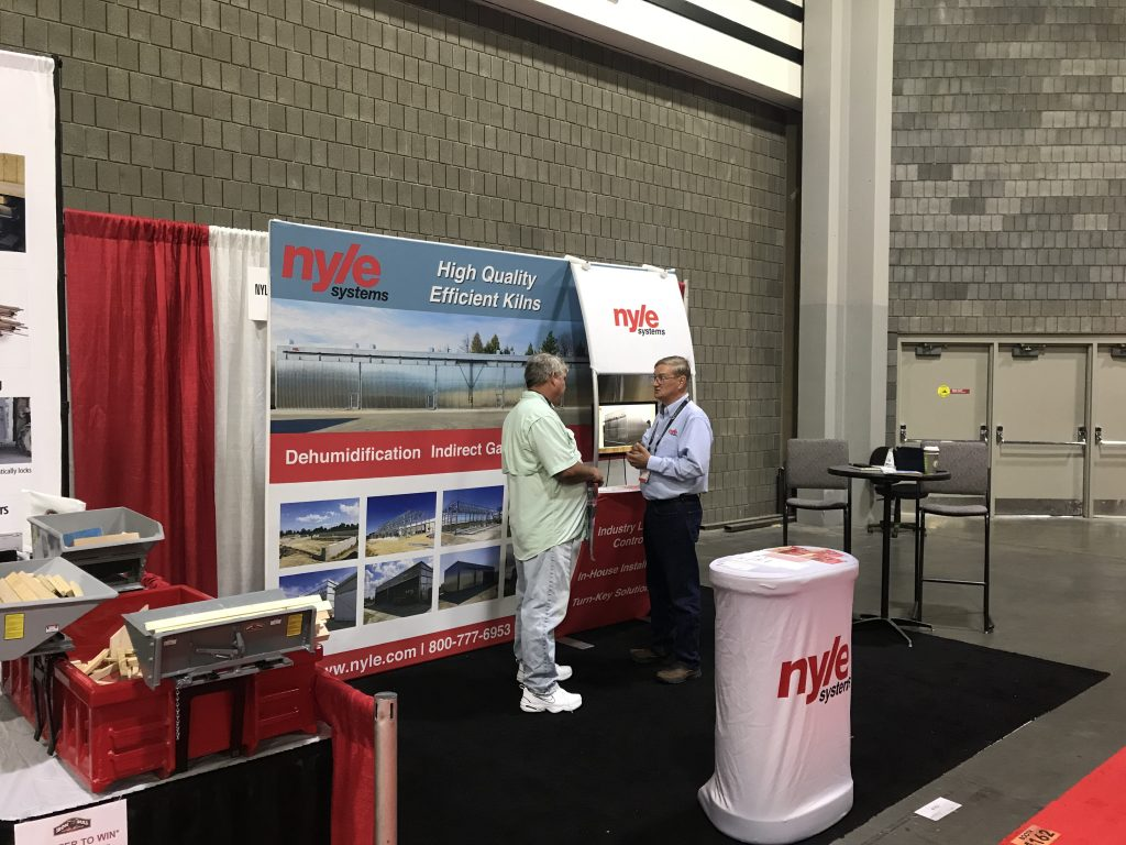 nyle systems at the international woodworking fair in