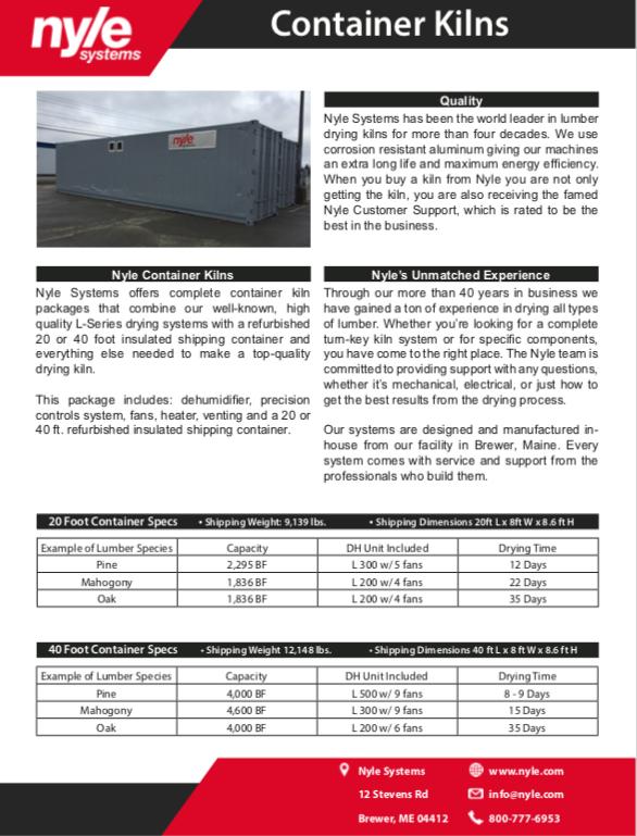 Container Kilns