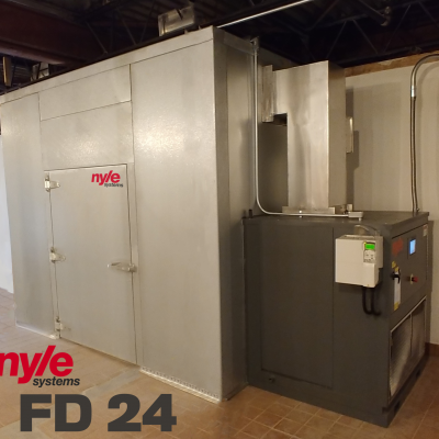 FD-24 Installed in Mid-West to dry fruit