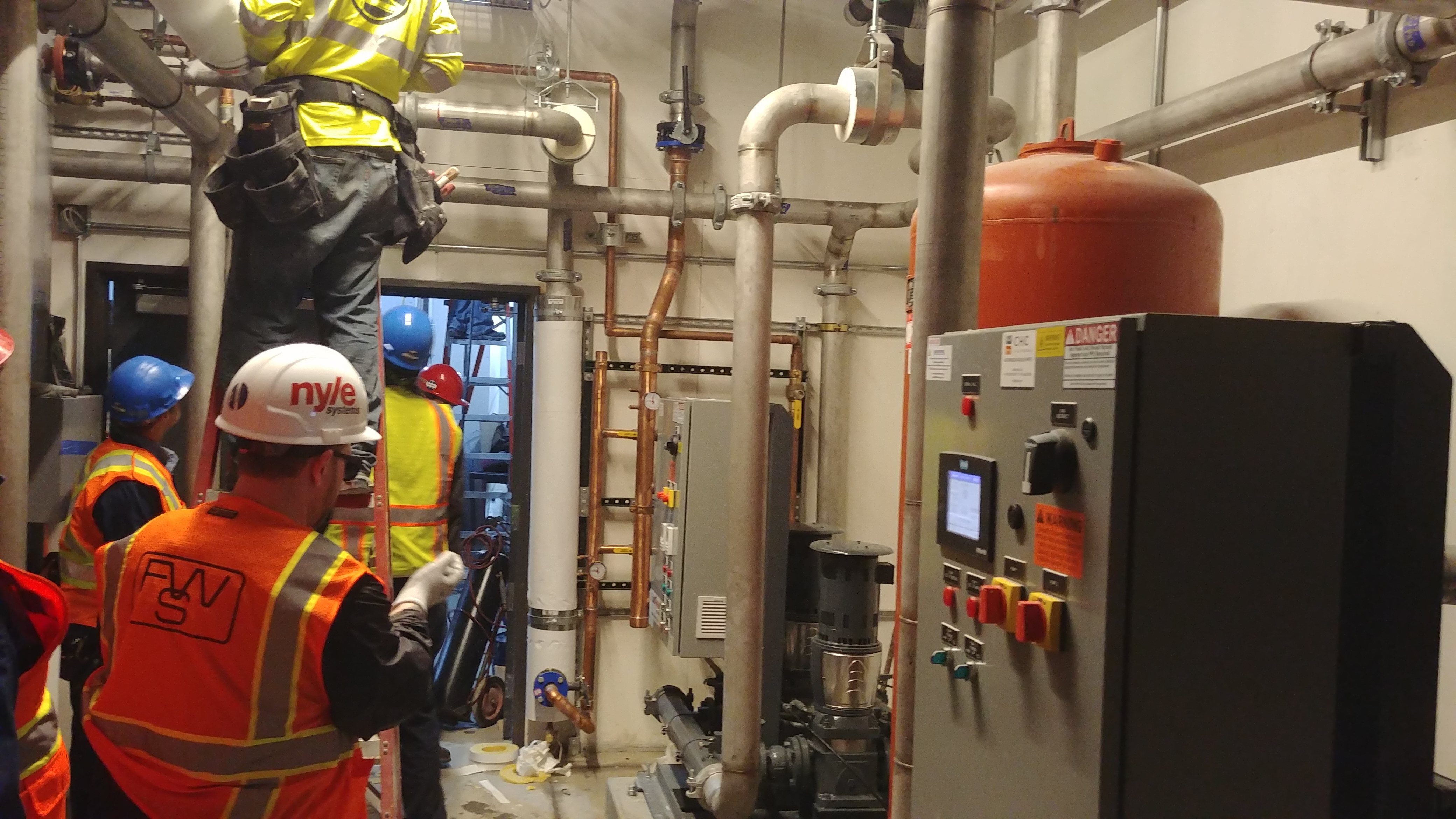Making Hot Water, UCSF Commissioning! - Nyle Systems