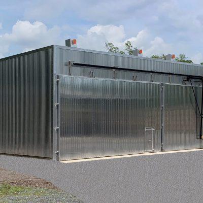 2 x 50MBF DH/Gas Hybrid Kiln