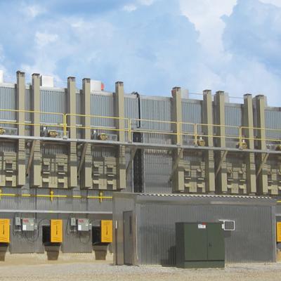 140 MBF Indirect Gas Fired Kiln