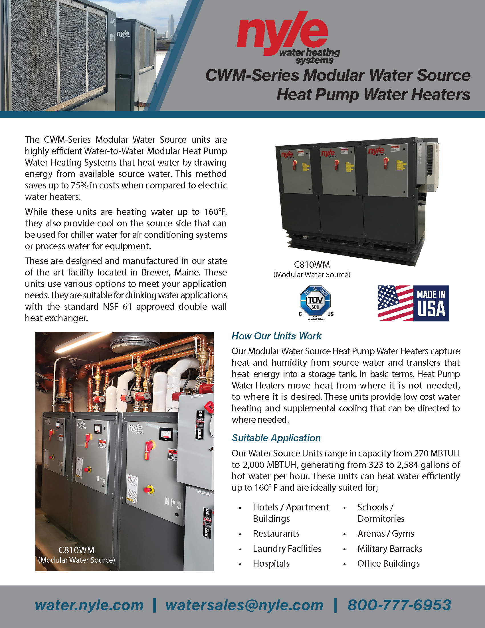 CWM-Series Sales Sheet