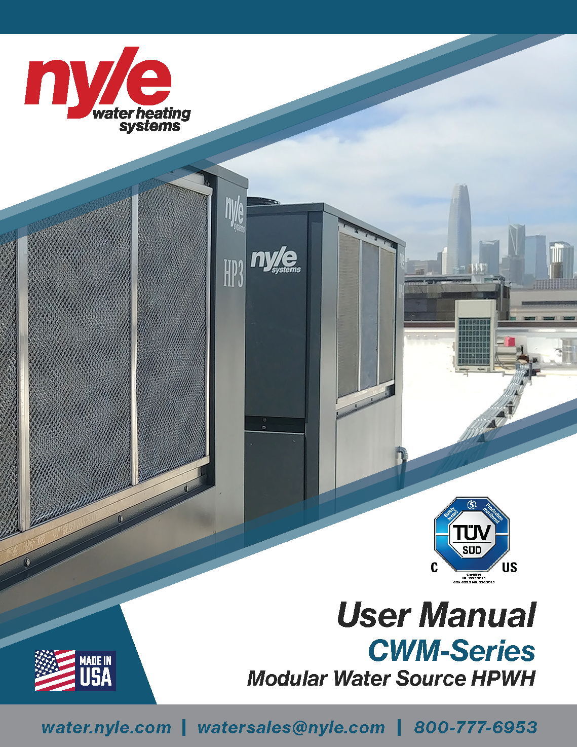 CWM - Series Modular Water Source Manual