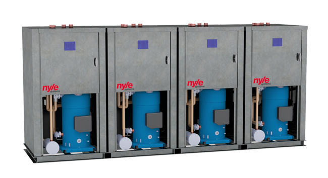 Modular Water Source Heater Nyle Systems Brewer Maine