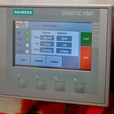 FD 10 Control Screen
