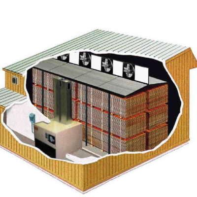 HT Kiln Layout Example