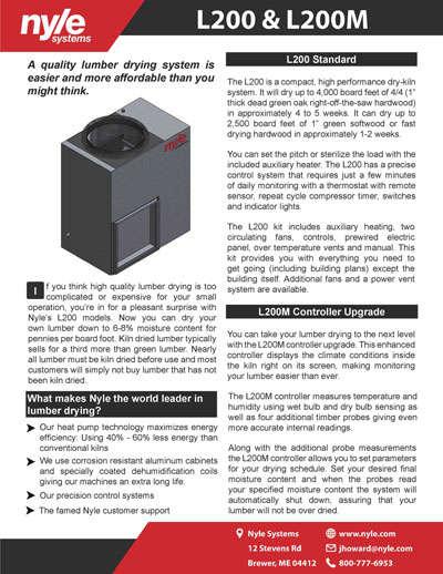 L200 Sales Sheet