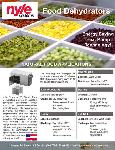 Natural Food Applications