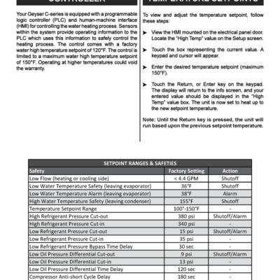 PLC Controls Page 1