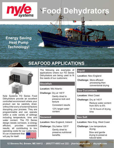 Seafood Applications